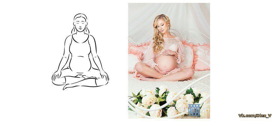 Лучшие позы для беременных для фотосессии 7